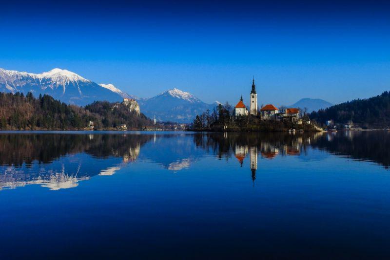 Bogdan Bricelj Peaceful Lake Bled