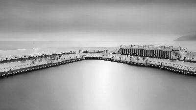 Penzance Sea Pool, Steward  Duncan , England