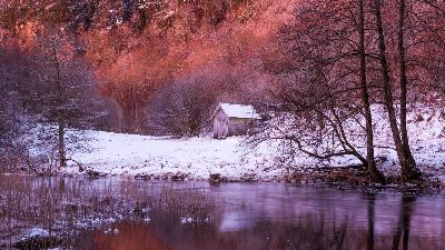 Early Morning In December, Ropstad  Bard , Norway