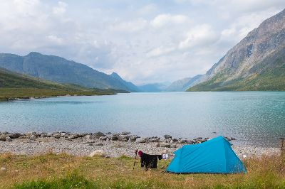 Camping On The Beach, Ropstad  Bard , Norway