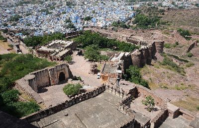 Portion Of Jaipur Fort, Mishra  Arabinda Kumar , India
