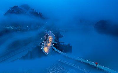Walking In Fog And Rain, Huang  Woodpecker , Taiwan