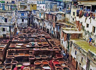 Old Tannery Of Fez No5, Toussimis  Dimitris , Greece