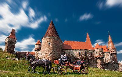 Chariot At Hunyadi Castle, Hejja  Arpad , Romania