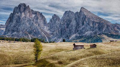 Sassolungo Val Gardena Dolomites, Clark  Peter , England