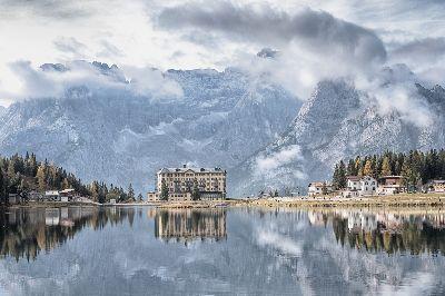 Lago Misurina Dolomites, Clark  Peter , England