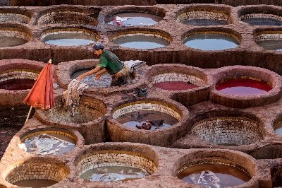 The Chouara Tanneries, Savescu  Flavian , Romania