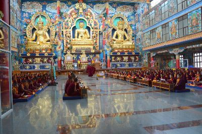 Tibetan Temple In India, Algom  Rachel , Israel