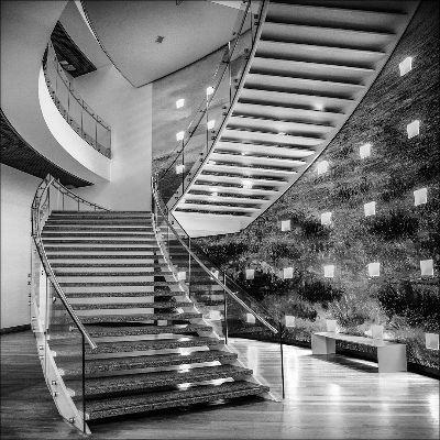 Stairs-16-BW, Ten Tusscher  Rob , Netherlands