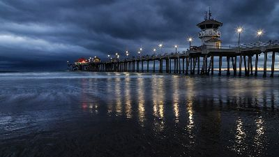 Huntington Beach Pier 2, Le  Minh , Usa