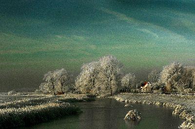 Berijpt Landschap, Lybaert  Daniel , Netherlands