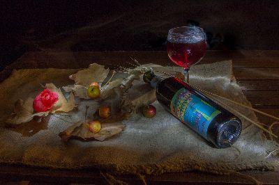 Wine And Apples, Gitliz  Galia , Israel