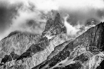 Torres Del Paine Peaks, Langevin  Dee , Usa
