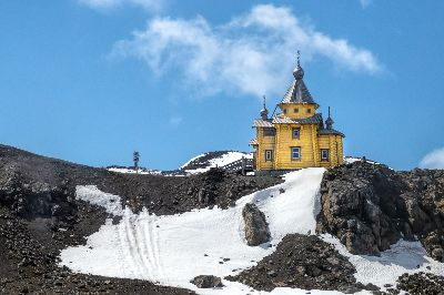 Isolated Antarctic Church, Langevin  Dee , Usa