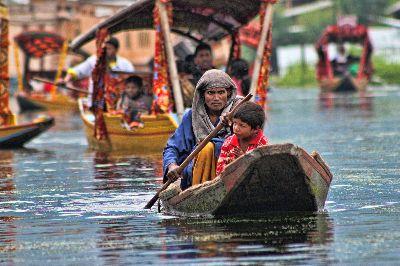 Dal Lake, Saha  Subho , India