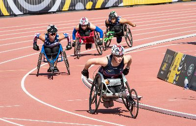 Wheelchair Race 34, Kwan  Phillip , Canada
