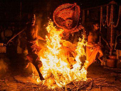 Kandanar Kelan Theyyam, Mokashi  Yogesh , India