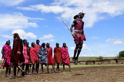 Maasai Jump, Mane  Chethan Rao , India