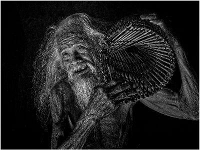 A 96-year Old Fisherman, Vu  Hien , Usa