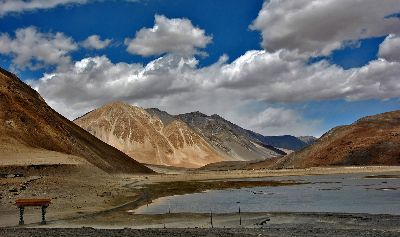 04.IS THAT FAMOUS PANGONG LAKE DRYING, Das Chowdhury  Chiradip , India