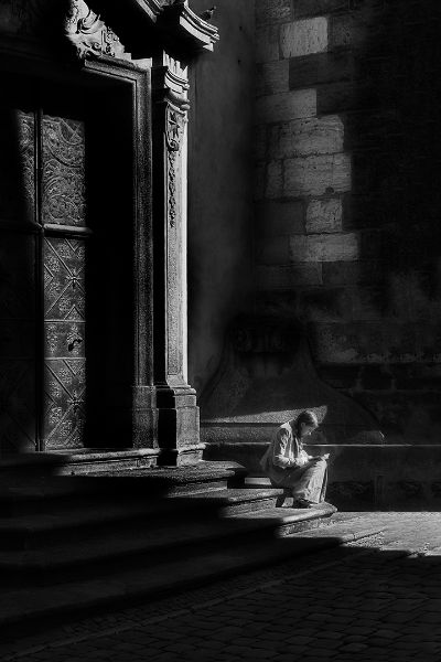 Sitting On Stairs Nr2, Chalkiadakis  Kostas , Greece