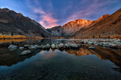 Convict Lake Sunrise, Trinh  Shirley , Usa