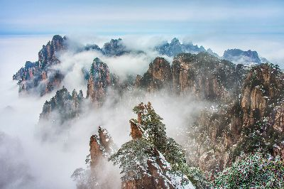 First Snow At Huangshan 1, Che  Arnaldo Paulo , Hong Kong