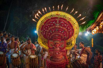 Theyyam 9, Vakalapudi  Suresh Kumar , India