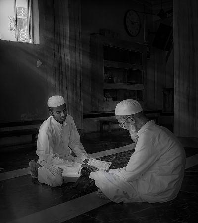 AT THE MOSQUE, Sen  Debasis , India