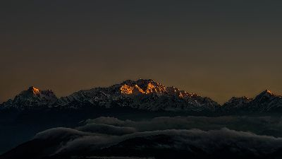 FIRST LIGHT ON SLEEPING BUDHHA, Sen  Debasis , India