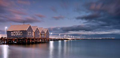 Busselton Jetty Dawn, Cannon  Wally , Australia