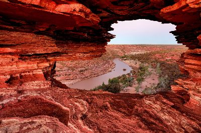 Kalbarri Natures Window Dusk, Cannon  Wally , Australia