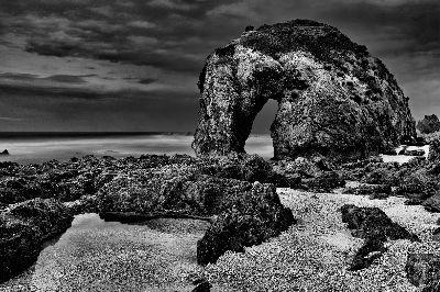 Horse Head Rock Stormy Dusk No. 2, Cannon  Wally , Australia