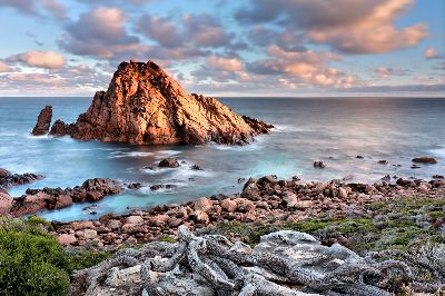 Sugarloaf Rock Dawn No. 3, Cannon  Wally , Australia