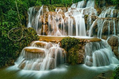 Waterfall 1, Tun  Swe , Myanmar