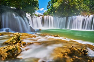Waterfall, Tun  Swe , Myanmar