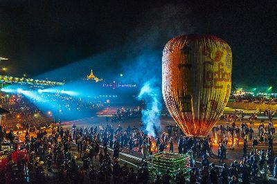 Balloon, Tun  Swe , Myanmar