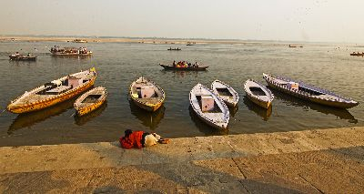 RIVER BOATS, Manoharan  Rudra , India