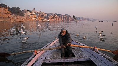 THE RIVER BOATMAN, Manoharan  Rudra , India