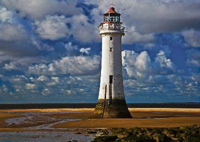 Lighthouse At Perch Rock, Stout  David , England