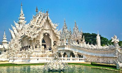 White Temple, Thailand, Stout  David , England