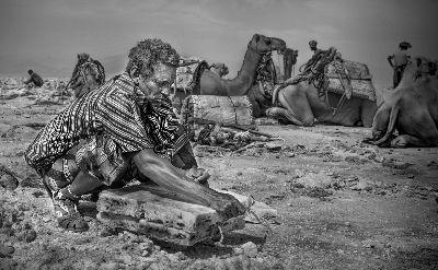 Salt Worker, Day  Liane , Australia