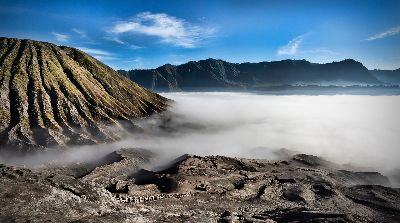On The Way Up To Bromo, Day  Liane , Australia