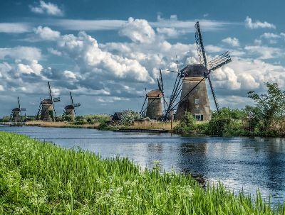 Windmills Of Kinderdijk, Dimke  Sandy , Usa