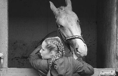 Horse And Girl, Hansen  Bjarne Juhl , Denmark