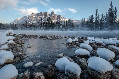 Fogy At Bow River, Tran  Chinh , Usa