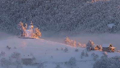 WINTER DAY, Gortnar  Stane , Slovenia