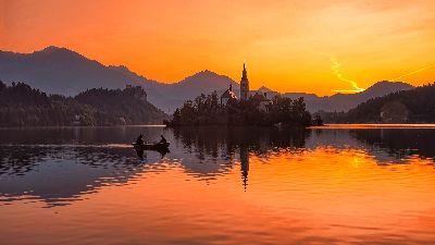LAKE BLED, Gortnar  Stane , Slovenia