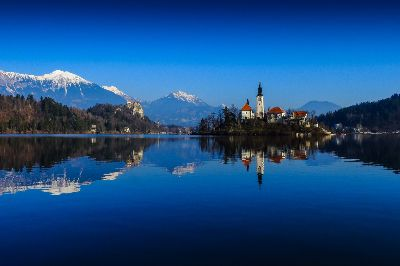 Peaceful Lake Bled, Bricelj  Bogdan , Slovenia