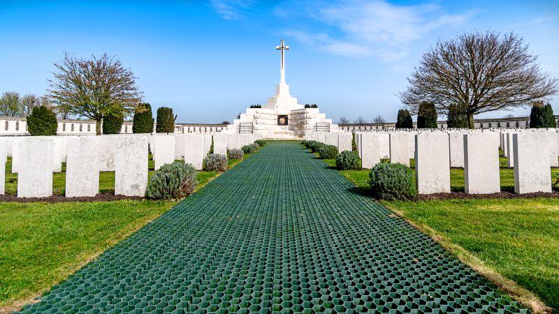 Tyne Cot Cemetery 4346, De Bosscher  Mathieu , Belgium